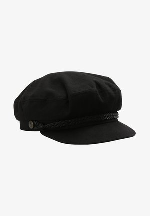 FIDDLER - Bonnet - black harringbone twill