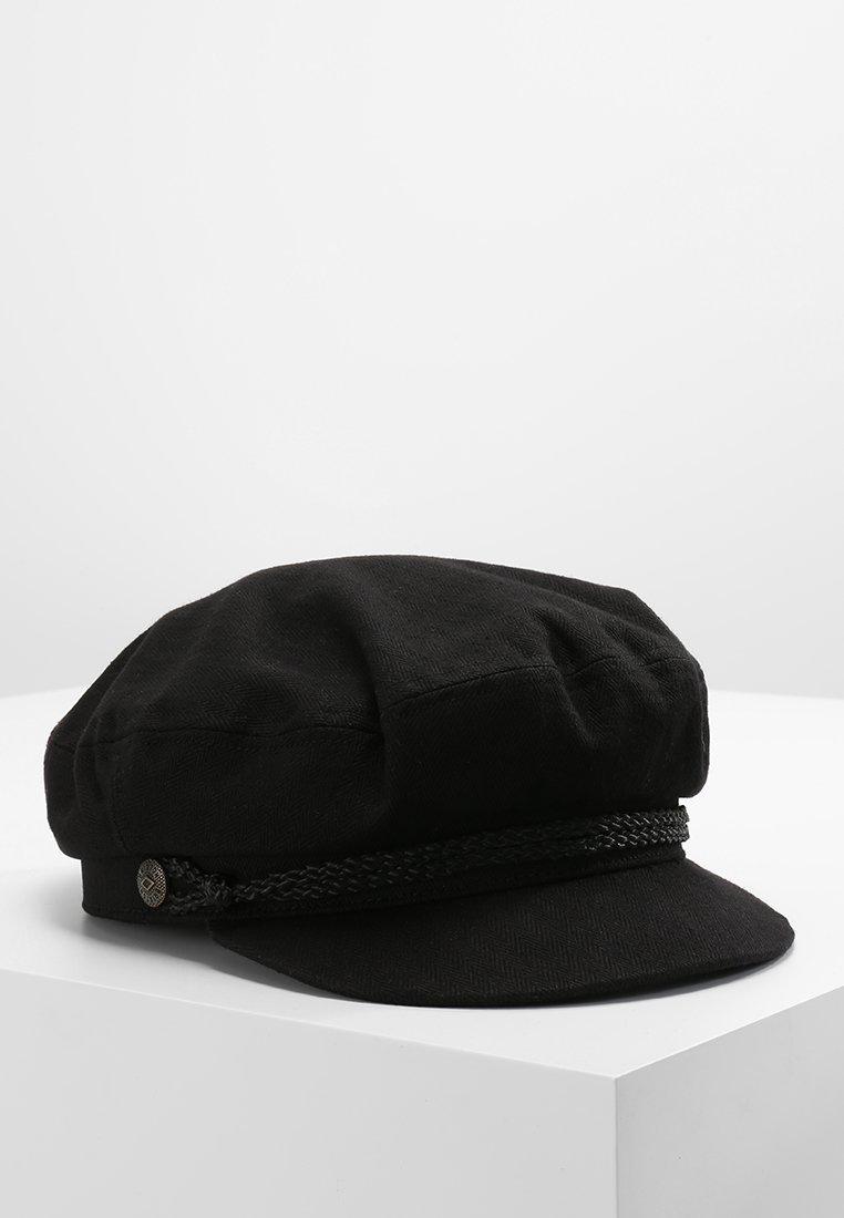 Brixton - FIDDLER - Mütze - black harringbone twill