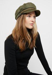Brixton - FIDDLER - Gorro - military olive - 4