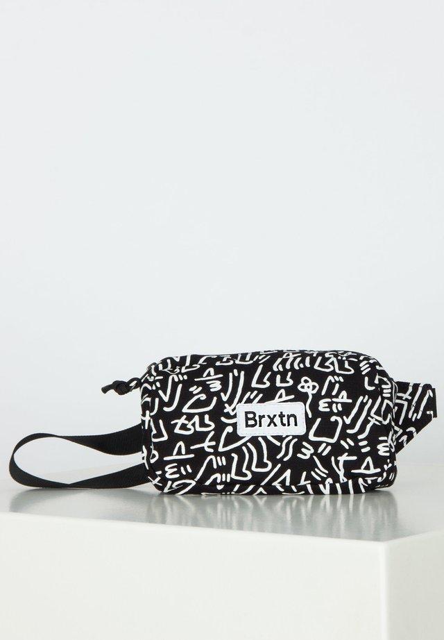 GATE HIP PACK - Bum bag - black