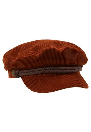 FIDDLER CAP - Beanie - rust