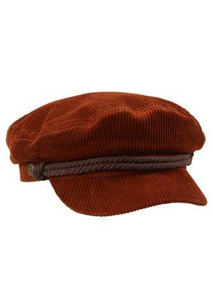 FIDDLER CAP - Čepice - rust