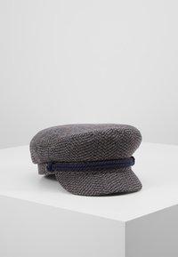 Brixton - FIDDLER CAP - Czapka - washed navy/mauve - 0