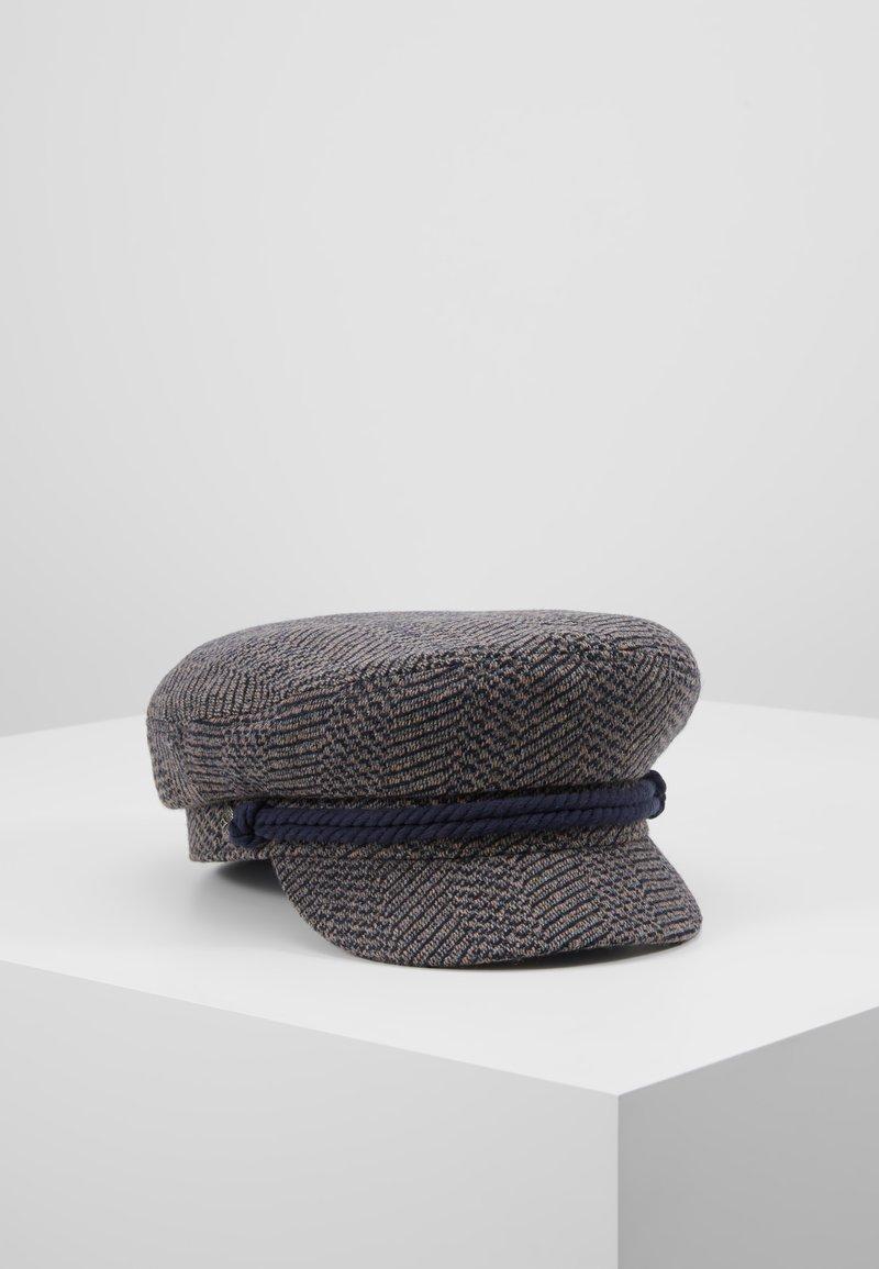 Brixton - FIDDLER CAP - Huer - washed navy/mauve