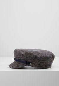 Brixton - FIDDLER CAP - Czapka - washed navy/mauve - 3