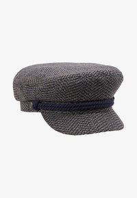 Brixton - FIDDLER CAP - Czapka - washed navy/mauve - 5
