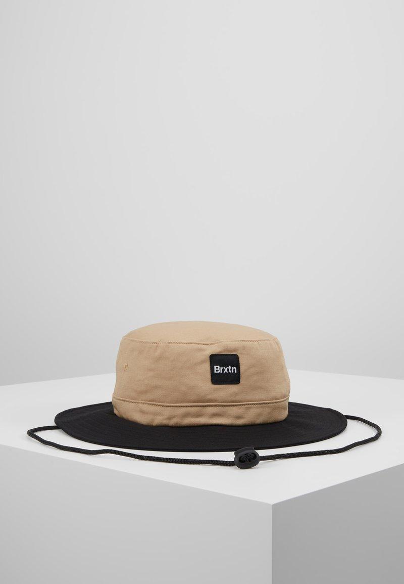 Brixton - GATE II BUCKET HAT - Chapeau - vanilla/black