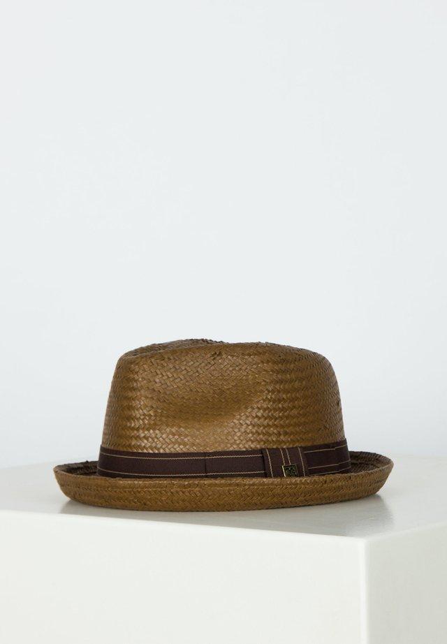 Hat - sepia/brown
