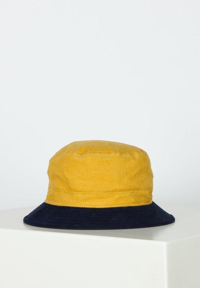 Hut - sunset yellow/washed navy
