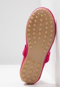 Bisgaard - Ankle strap ballet pumps - pink - 5