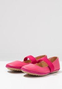 Bisgaard - Ankle strap ballet pumps - pink - 3