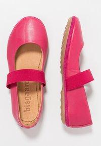 Bisgaard - Ankle strap ballet pumps - pink - 0