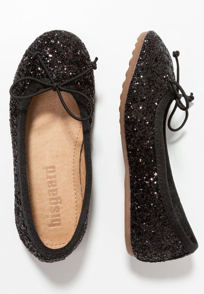 Bisgaard - BOW - Ballet pumps - glitter black