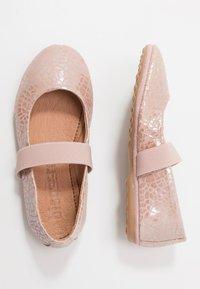 Bisgaard - QUINN - Ankle strap ballet pumps - shell - 0