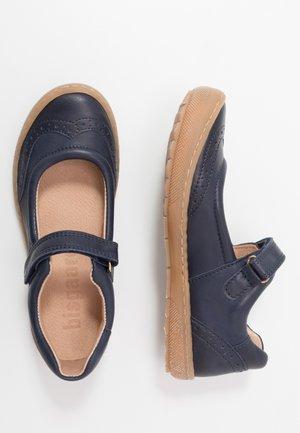RAIN  - Ankle strap ballet pumps - navy