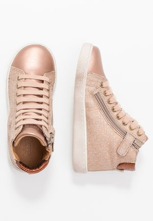 TRAINERS - High-top trainers - nude