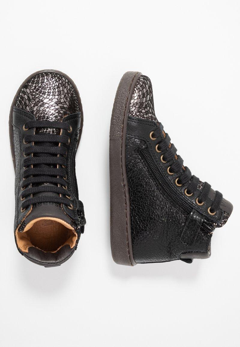 Bisgaard - TRAINERS - Sneakersy wysokie - silver