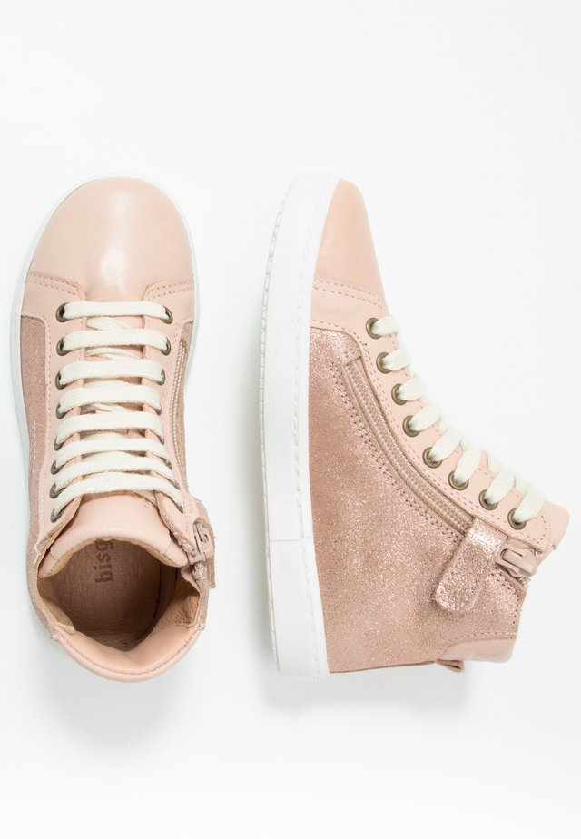 VILMA LACE SHOE - Sneaker high - nude