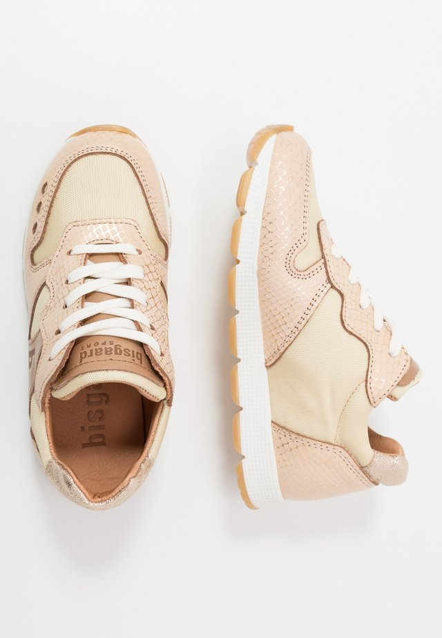 VIBE LACE - Trainers - gold