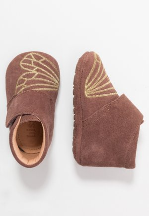 BUTTERFLY HOME SHOE - First shoes - plume