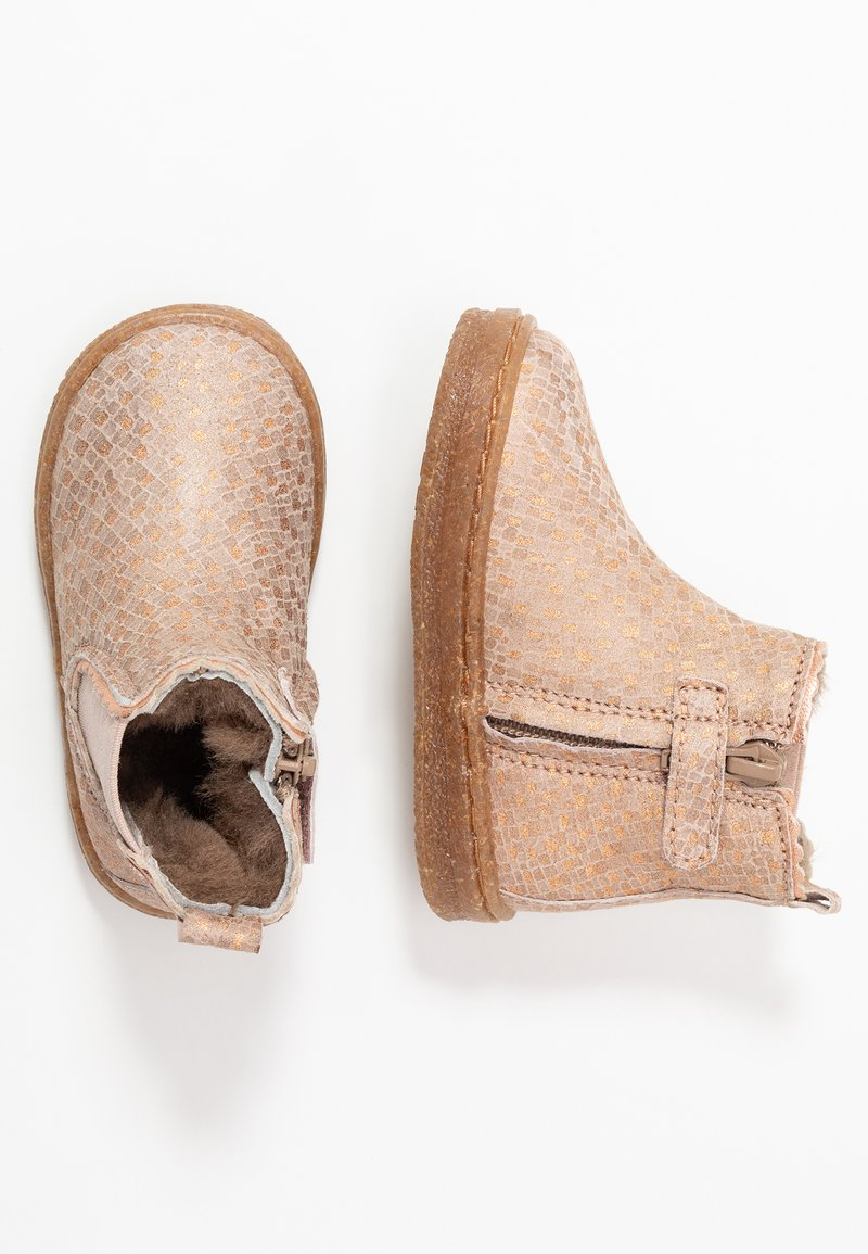 Bisgaard - BOOTIES - Baby shoes - nude square