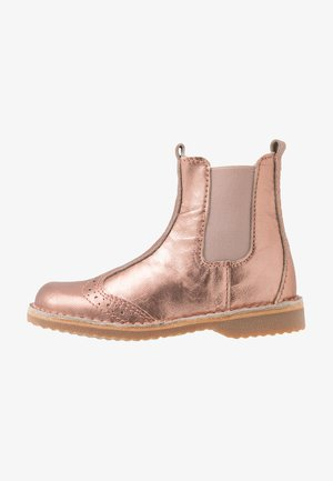 BOOTIES - Classic ankle boots - bronze