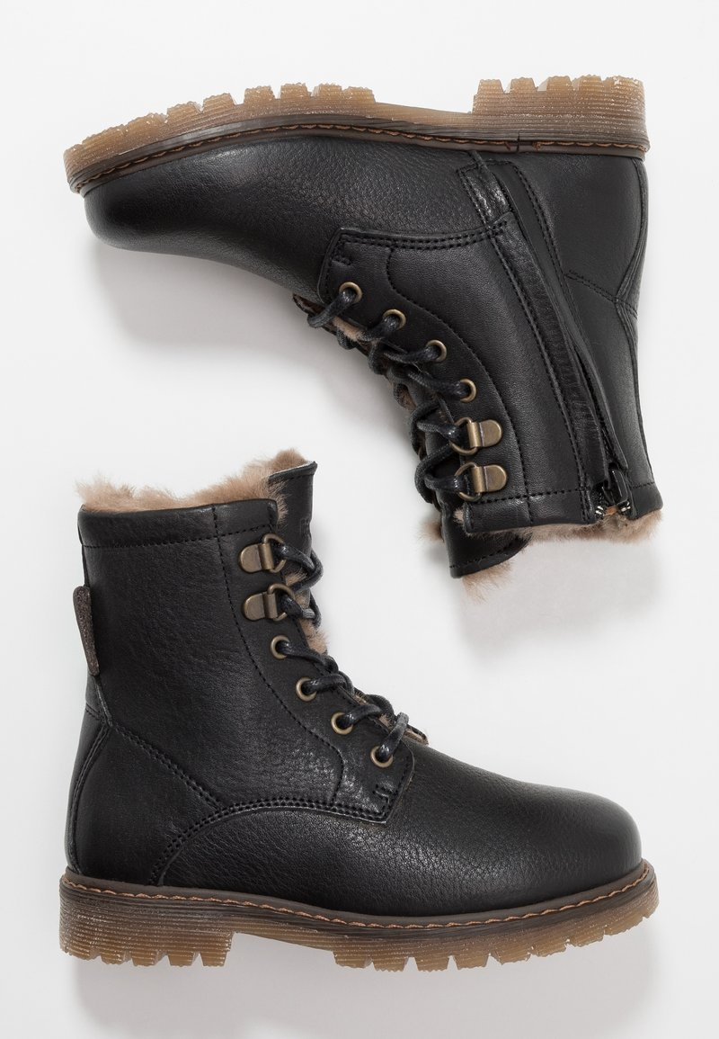 Bisgaard - Lace-up ankle boots - black