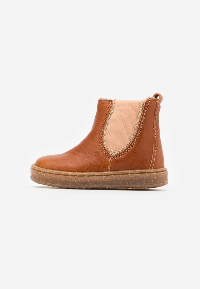 TINKE - Classic ankle boots - cognac