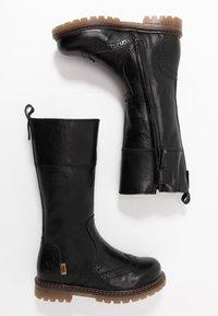Bisgaard - HIGH - Bottes de neige - black - 0
