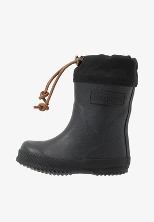 THERMO BOOT - Holínky - glitter/black