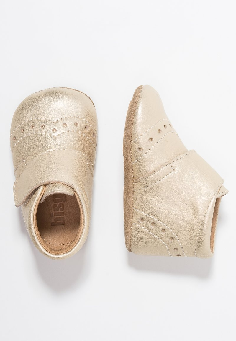 Bisgaard - PETIT HOME SHOE - Slippers - gold