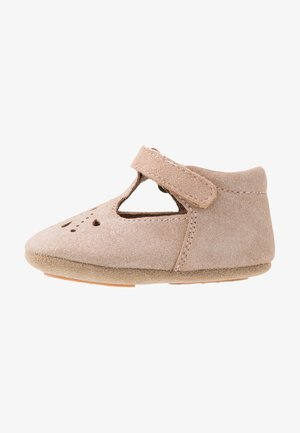 BLOOM HOME SHOE - First shoes - glitter nude