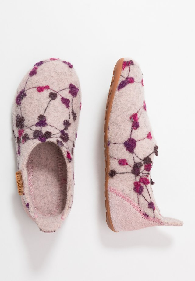 HOME SHOE - Slippers - rose