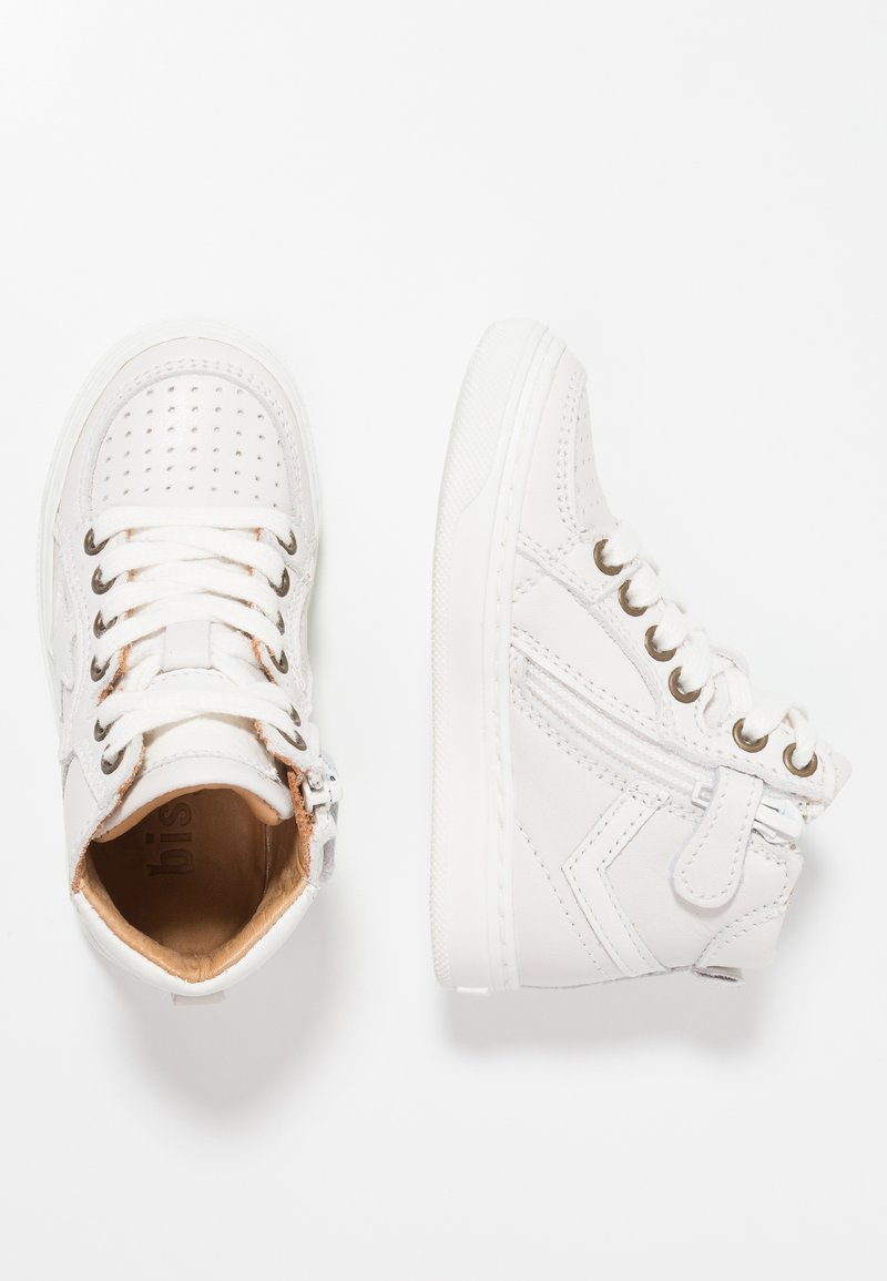 Bisgaard - SHOE WITH LACES - Sneaker high - offwhite