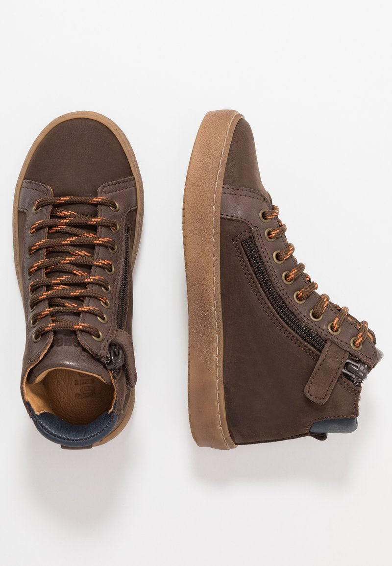 Bisgaard - TRAINERS - High-top trainers - coffee