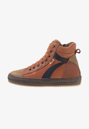 TRAINERS - Zapatillas altas - cognac