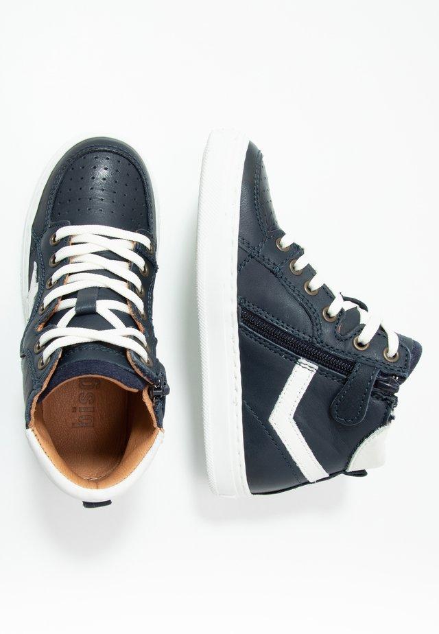 ISAK LACE SHOE - Sneakers hoog - navy
