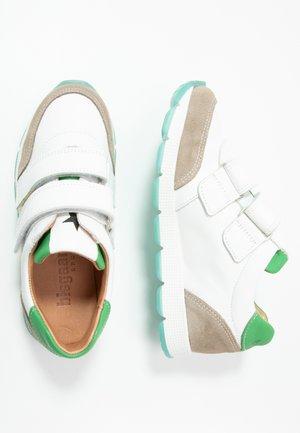 LIAM SHOE - Zapatillas - white/green
