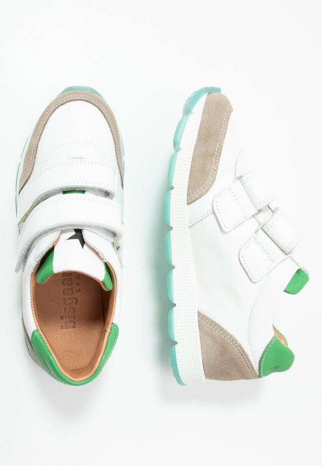 LIAM SHOE - Sneaker low - white/green