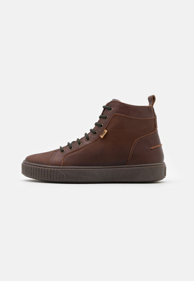 DAO - Sneaker high - brandy