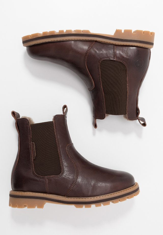 BOOTIES - Classic ankle boots - dark brown