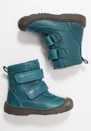 Winter boots - petrolio