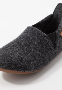 Bisgaard - SAILOR HOME SHOE - Slippers - anthrazit - 2