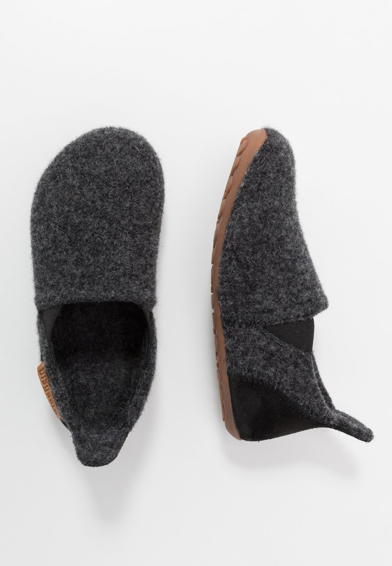 Bisgaard - SAILOR HOME SHOE - Slippers - anthrazit