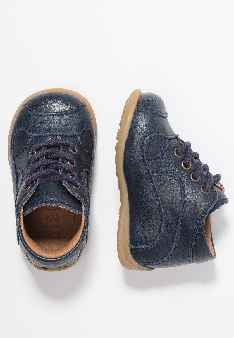 Bisgaard - CLASSIC PREWALKER - Baby shoes - blue