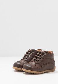 Bisgaard - CLASSIC PREWALKER - Baby shoes - brown - 3