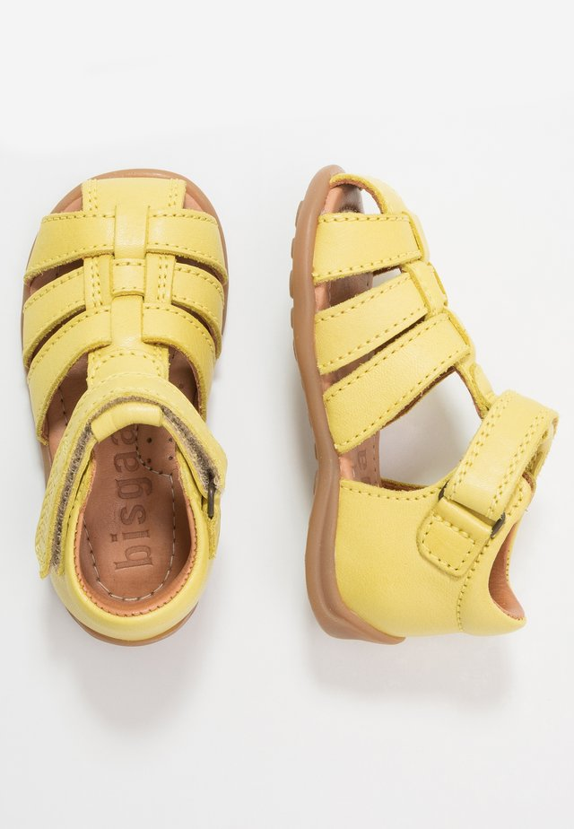 CARLY - Baby shoes - lemon