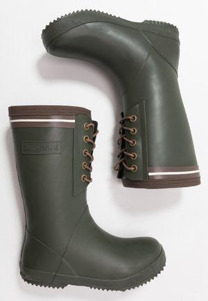 BOOT LACE THERMO - Holínky - green