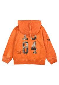 Boboli - PLÜSCH  - veste en sweat zippée - orange - 1