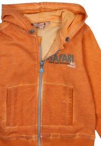 Boboli - PLÜSCH  - veste en sweat zippée - orange - 2